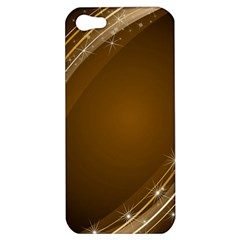 Abstract Background Apple Iphone 5 Hardshell Case