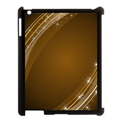 Abstract Background Apple Ipad 3/4 Case (black)