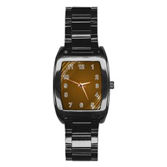 Abstract Background Stainless Steel Barrel Watch