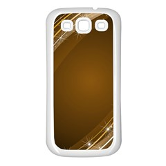 Abstract Background Samsung Galaxy S3 Back Case (white)