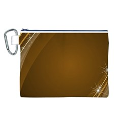 Abstract Background Canvas Cosmetic Bag (l)