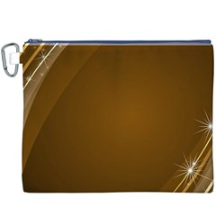 Abstract Background Canvas Cosmetic Bag (xxxl)