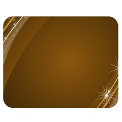 Abstract Background Double Sided Flano Blanket (medium)