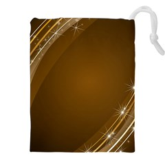 Abstract Background Drawstring Pouches (xxl)