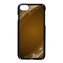 Abstract Background Apple Iphone 7 Seamless Case (black)