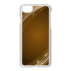 Abstract Background Apple Iphone 7 Seamless Case (white)