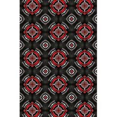 Abstract Black And Red Pattern 5 5  X 8 5  Notebooks