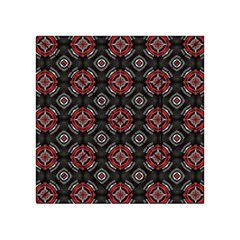 Abstract Black And Red Pattern Acrylic Tangram Puzzle (4  X 4 )