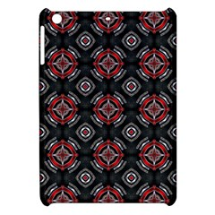 Abstract Black And Red Pattern Apple Ipad Mini Hardshell Case