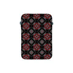 Abstract Black And Red Pattern Apple Ipad Mini Protective Soft Cases