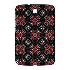 Abstract Black And Red Pattern Samsung Galaxy Note 8 0 N5100 Hardshell Case