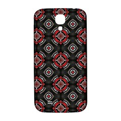 Abstract Black And Red Pattern Samsung Galaxy S4 I9500/i9505  Hardshell Back Case