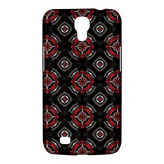Abstract Black And Red Pattern Samsung Galaxy Mega 6 3  I9200 Hardshell Case