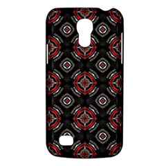 Abstract Black And Red Pattern Galaxy S4 Mini