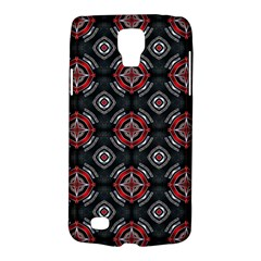 Abstract Black And Red Pattern Galaxy S4 Active