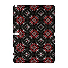 Abstract Black And Red Pattern Galaxy Note 1