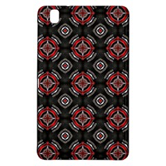 Abstract Black And Red Pattern Samsung Galaxy Tab Pro 8 4 Hardshell Case
