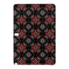 Abstract Black And Red Pattern Samsung Galaxy Tab Pro 12 2 Hardshell Case