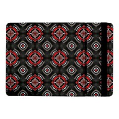 Abstract Black And Red Pattern Samsung Galaxy Tab Pro 10 1  Flip Case