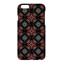 Abstract Black And Red Pattern Apple Iphone 6 Plus/6s Plus Hardshell Case