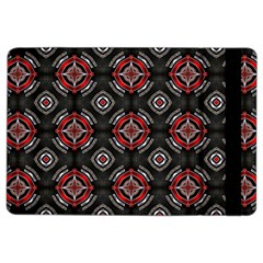 Abstract Black And Red Pattern Ipad Air 2 Flip