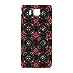 Abstract Black And Red Pattern Samsung Galaxy Alpha Hardshell Back Case