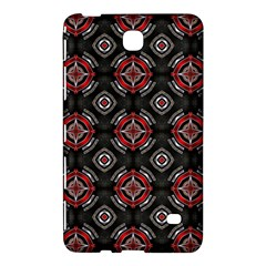 Abstract Black And Red Pattern Samsung Galaxy Tab 4 (7 ) Hardshell Case