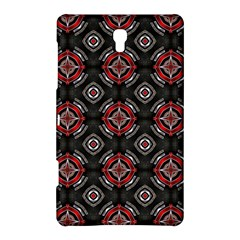 Abstract Black And Red Pattern Samsung Galaxy Tab S (8 4 ) Hardshell Case