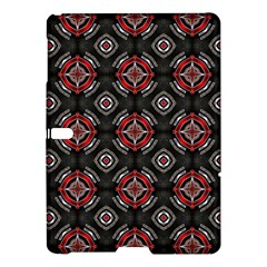 Abstract Black And Red Pattern Samsung Galaxy Tab S (10 5 ) Hardshell Case