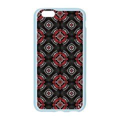 Abstract Black And Red Pattern Apple Seamless iPhone 6/6S Case (Color)