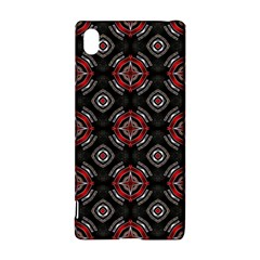 Abstract Black And Red Pattern Sony Xperia Z3+