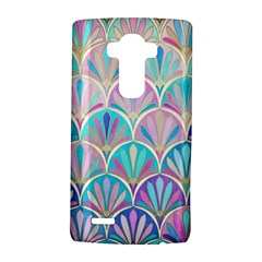 Colorful sea shell LG G4 Hardshell Case