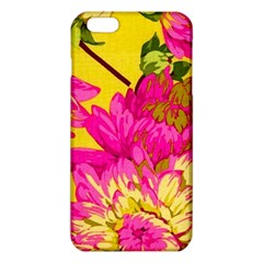Colorful pink flower iPhone 6 Plus/6S Plus TPU Case