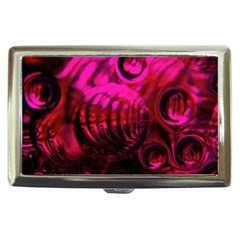 Abstract Bubble Background Cigarette Money Cases