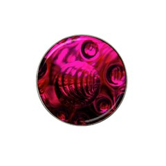 Abstract Bubble Background Hat Clip Ball Marker (10 Pack)