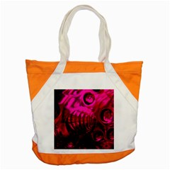 Abstract Bubble Background Accent Tote Bag