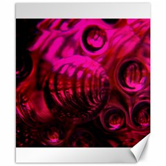 Abstract Bubble Background Canvas 8  X 10