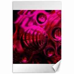 Abstract Bubble Background Canvas 12  X 18