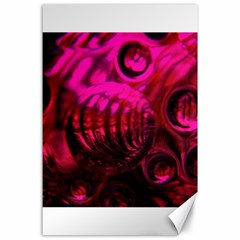 Abstract Bubble Background Canvas 24  X 36