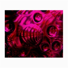 Abstract Bubble Background Small Glasses Cloth (2 Side)