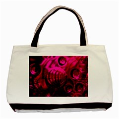 Abstract Bubble Background Basic Tote Bag (two Sides)