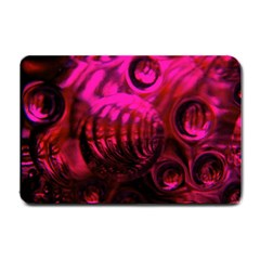 Abstract Bubble Background Small Doormat