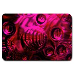 Abstract Bubble Background Large Doormat