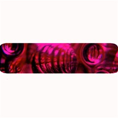 Abstract Bubble Background Large Bar Mats