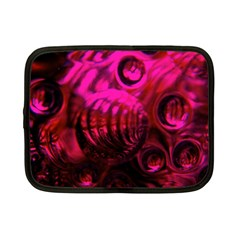 Abstract Bubble Background Netbook Case (small)