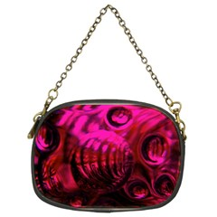Abstract Bubble Background Chain Purses (two Sides)