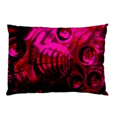 Abstract Bubble Background Pillow Case