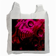 Abstract Bubble Background Recycle Bag (two Side)