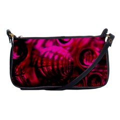 Abstract Bubble Background Shoulder Clutch Bags