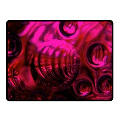 Abstract Bubble Background Fleece Blanket (small)